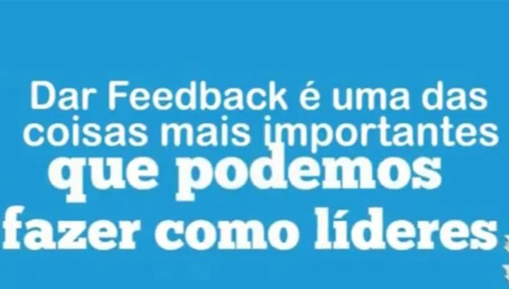 Vídeo: o Valor do Feedback
