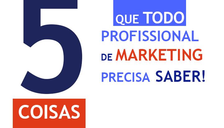 5 dicas para profissionais de marketing