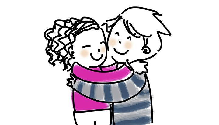 Vídeo: comemore o Dia do Abraço com um vídeo emocionante