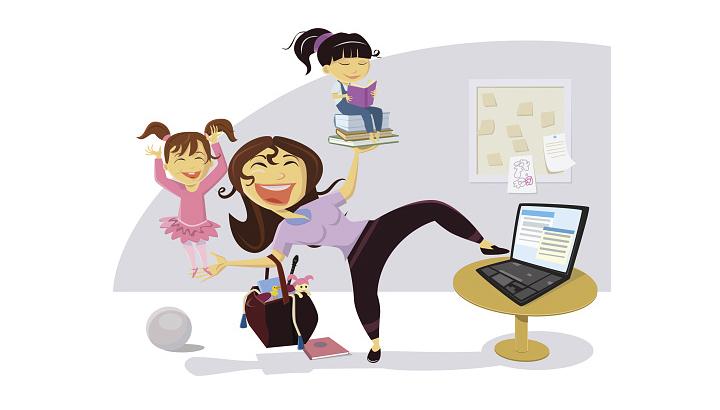 Vídeo: profissão e maternidade