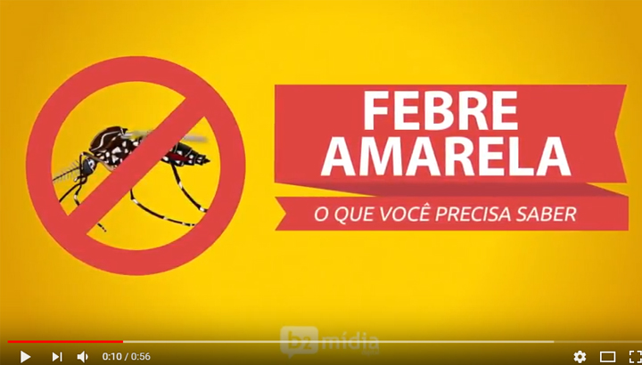 Animação: Febre Amarela